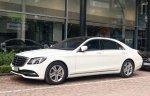 Cần bán Mercedes S450L 2018 chạy 3.000km màu trắng, giá tốt