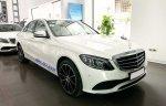 Bán Mercedes C200 Exclusive 2019 cũ màu trắng, biển đẹp, giá cực tốt