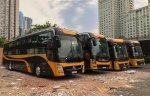 Bán xe Thaco 40 giường, máy Huyndai sx 2013