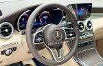 Bán Mercedes GLC200 4Matic sx 2021 màu trắng, nội thất kem siêu lướt 1200km, duy nhất trên thị trường
