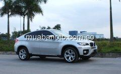 Bán xe BMW X6 đời 2009, màu bạc, nhập khẩu, chính chủ giá 1 tỷ 720 tr tại Hà Nội