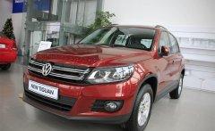 Bán ô tô Volkswagen Tiguan DA sản xuất 2015, màu đỏ, nhập khẩu nguyên chiếc giá 1 tỷ 350 tr tại Tp.HCM