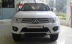 Bán xe Mitsubishi Pajero Sport đời 2016, màu trắng nhận ngay ưu đãi có thể lên đến 20tr đồng giá 949 triệu tại Tp.HCM