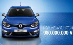 Bán Megane Hatchback nhập khẩu Châu Âu, khuyến mãi hấp dẫn tháng 11, xin LH 0914.733.100 để gảm ngay 150tr  giá 980 triệu tại Hà Nội