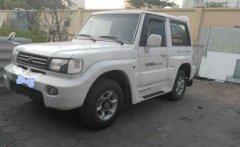 Cần bán Hyundai Galloper 2003, màu trắng, nhập khẩu   giá 210 triệu tại Hà Nội