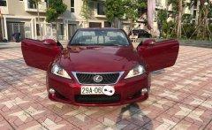 Lexus IS250C nhập Nhật nguyên chiếc sản xuất 2010, đăng ký 2011  giá 1 tỷ 480 tr tại Hà Nội