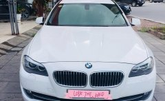 Bán BMW 520i sx và đăng kí 2012, màu trắng, nội thất đen cực sang giá 1 tỷ 120 tr tại Hà Nội
