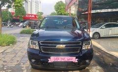 Chevrolet Suburban, model 2009, xe nhập nguyên chiếc Mỹ, màu xanh, nội thất da xịn màu vàng bò giá 1 tỷ 850 tr tại Hà Nội