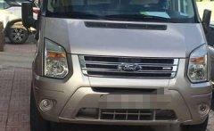 Bán ô tô Ford Transit Luxury sản xuất năm 2014, màu bạc số sàn  giá 575 triệu tại Tp.HCM