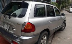Bán xe Hyundai Santa Fe Gold năm sản xuất 2004, màu bạc giá 285 triệu tại Gia Lai