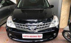Cần bán Nissan Tiida 1.6 AT 2008, màu đen, xe nhập giá 315 triệu tại Hà Nội