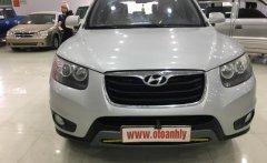 Bán xe Hyundai Santa Fe 2.4AT 2011, màu trắng, giá cạnh tranh giá 680 triệu tại Phú Thọ