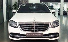 Bán Mercedes S450L màu trắng - xe chính hãng đã qua sử dụng giá 3 tỷ 799 tr tại Hà Nội
