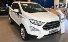 Ford EcoSport Titanium 2019, màu trắng, hỗ trợ trả góp giá 628 triệu tại Tp.HCM
