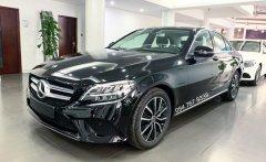 Bán Mercedes C200 2019 màu đen - xe đã qua sử dụng chính hãng giá 1 tỷ 380 tr tại Hà Nội