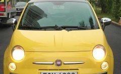Bán Fiat 500 1.2 AT đời 2009, màu vàng, nhập khẩu   giá 418 triệu tại Tp.HCM
