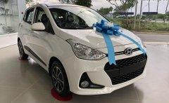 Phiên bản Hatchback, 5 chỗ ngồi: Hyundai Grand i10 1.2 AT đời 2020, màu trắng, bán giá tốt giá 384 triệu tại Long An