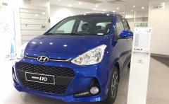 Giá bán tốt nhất thị trường - Hyundai Grand i10 1.2 MT đời 2020, màu xanh lam giá 315 triệu tại Long An