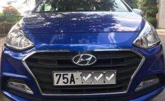 Cần bán xe Hyundai Grand i10 1.2 AT năm sản xuất 2018, màu xanh lam số tự động, giá 360tr giá 360 triệu tại Quảng Trị