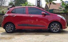 Cần bán Hyundai Grand i10 sản xuất năm 2017, màu đỏ, xe gia đình giá 370 triệu tại Hà Tĩnh