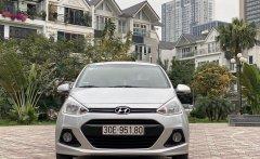 Bán Hyundai Grand i10 1.2 AT đời 2016, màu bạc, nhập khẩu giá 355 triệu tại Hà Nội