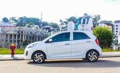 Kia Quảng Ngãi cần bán Kia Morning 1.25AT Luxury năm 2020, màu trắng giá 393 triệu tại Quảng Ngãi