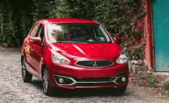 Giảm giá chiếc Mitsubishi Mirage CVT sản xuất 2019, màu đỏ, xe nhập giá 425 triệu tại Tp.HCM