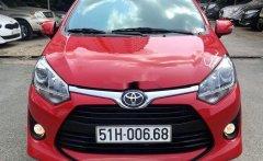 Cần bán lại xe Toyota Wigo sản xuất năm 2019, màu đỏ, nhập khẩu nguyên chiếc xe gia đình giá 318 triệu tại Tp.HCM