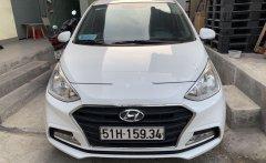 Cần bán lại xe Hyundai Grand i10 đời 2019, màu trắng giá 368 triệu tại Tp.HCM