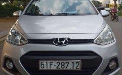 Bán Hyundai Grand i10 2015, màu bạc, xe nhập   giá 240 triệu tại Tp.HCM