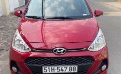 Bán Hyundai Grand i10 AT năm 2019, màu đỏ số tự động giá 385 triệu tại Tp.HCM