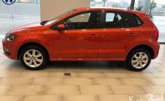 Cần bán gấp Volkswagen Polo E 2018, màu đỏ, xe nhập, khuyến mãi 100% phí trước bạ giá 695 triệu tại Tp.HCM