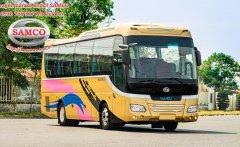 Bán xe khách Samco Isuzu 29 chỗ ngồi bầu hơi máy sau giá 2 tỷ 195 tr tại Tp.HCM