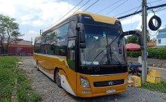 Bán xe Thaco 44 giường, máy Hyundai sx 201, xe sx 2011, máy Huyndai 380 giá 900 triệu tại Tp.HCM