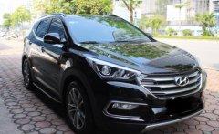 Bán xe Hyundai Santa Fe đời 2017, màu đen, như mới, giá chỉ 860 triệu giá 860 triệu tại Tp.HCM