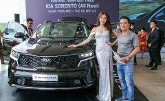 Bán xe Kia Sorento Deluxe đời 2021, màu đen giá 999 triệu tại Hà Nội