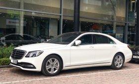Cần bán Mercedes S450L 2018 chạy 3.000km màu trắng, giá tốt giá 3 tỷ 660 tr tại Hà Nội
