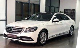 Bán Mercedes S450L màu trắng - xe chính hãng đã qua sử dụng giá 3 tỷ 590 tr tại Hà Nội