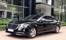 Bán Mercedes S450 2019 màu đen siêu lướt rẻ hơn xe mới 600tr giá 3 tỷ 660 tr tại Hà Nội