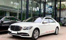 Bán Mercedes S450 2019 siêu lướt giá sốc - xe chính hãng đã qua sử dụng giá 3 tỷ 660 tr tại Hà Nội
