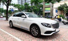 Bán Mercedes E200 sx 2019 màu trắng, siêu lướt, mới đăng ký 1 tháng giá 1 tỷ 920 tr tại Hà Nội