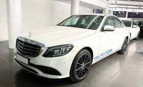 Bán Mercedes C200 Exclusive 2019 cũ màu trắng, biển đẹp, giá cực tốt giá 1 tỷ 480 tr tại Hà Nội