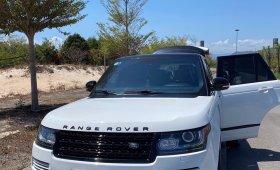 Bán xe RangeRover 5.0 Autobiography đời 2016 màu trắng.  giá 4 tỷ tại Tp.HCM