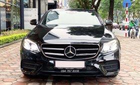 Xe lướt chính hãng - Mercedes E300 2020 màu đen, chạy 3.000km, giá cực tốt giá 2 tỷ 869 tr tại Hà Nội