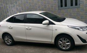 Cần bán gấp Toyota Vios năm 2018, màu trắng, như mới giá 400 triệu tại Tp.HCM