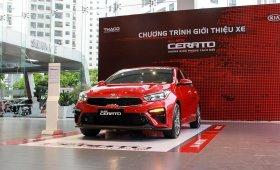 Cần bán gấp Kia Cerato Premium 2.0 2020, màu đỏ giá 670 triệu tại Hà Nội