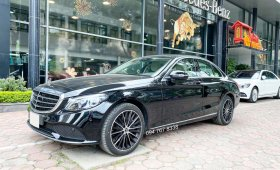 Bán Mercedes C200 Exclusive 2021 siêu lướt màu đen nội thất kem - Duy nhất trên thị trường giá 1 tỷ 688 tr tại Hà Nội