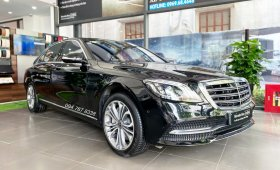Bán Mercedes S450 Luxury 2020 siêu lướt màu đen, rẻ hơn mua mới 1 tỷ, xe đã qua sử dụng chính hãng giá 4 tỷ 199 tr tại Hà Nội