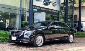Bán xe Mercedes S450 Limited màu đen chính chủ chạy lướt, rẻ hơn mua mới tới 1 tỷ đồng giá 3 tỷ 899 tr tại Hà Nội